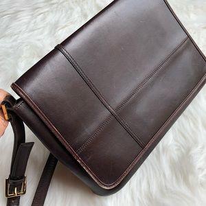 Etienne Aigner Vintage Cow Leather Shoulder Bag